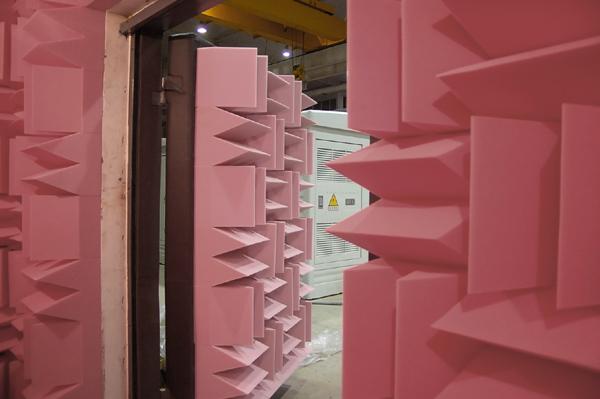 消声室建设,消声室设计,吸音尖劈,消声室