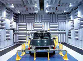 吸音尖劈-消声室-室内声学网