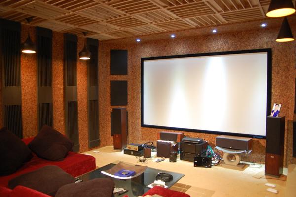 北京翠叠园私人影院-家庭影院 家庭影院设计-室内声学网